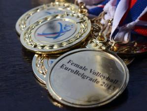 Женска одбојкашка екипа АФ освојила златну медаљу на турниру EuroBelgrade