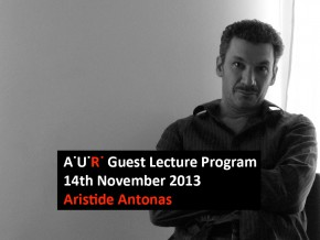 AUR Lecture: Laureates and Candidates – Aristide Antonas
