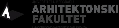 Univerzitet u Beogradu – Arhitektonski fakultet