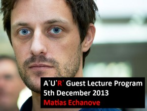 AUR Lecture: City and Society – Matias Echanove