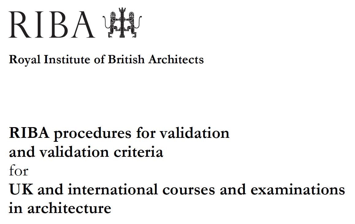 RIBA_Validation_Procedures