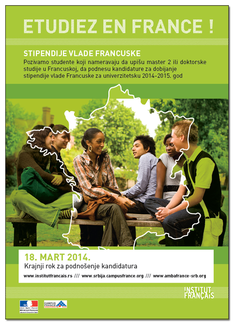 Stipendije za studije u Francuskoj