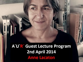 AUR Lecture: Laureates and Candidates – Anne Lacaton