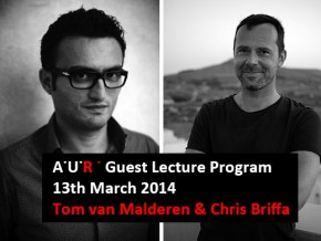 AUR Lecture: Design and Technologies – Tom van Malderen & Chris Briffa