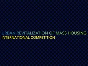 "Награде на конкурсу ""URBAN REVITALIZATION OF MASS HOUSING"""