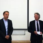 Izložba RIBA President's Medals Students Awards: prof. dr Vladan Đokić i prof. dr Dejvid Gloster