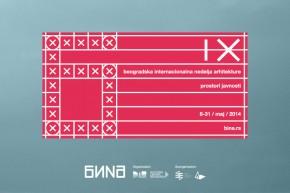 IX Beogradska internacionalna nedelja arhitekture (BINA) – PROSTORI JAVNOSTI