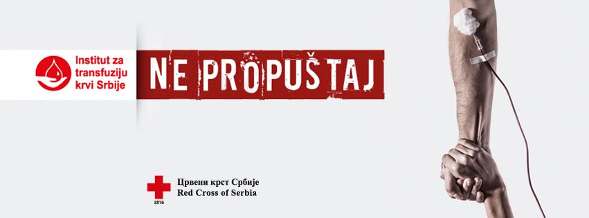 Dobrovoljni davaoci krvi Srbije_Ne propustaj