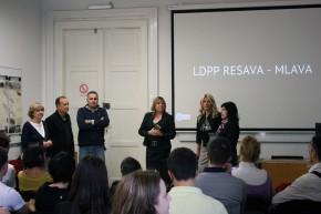 Отварање изложбе студентских радова у оквиру пилот пројекта Ресава – Млава