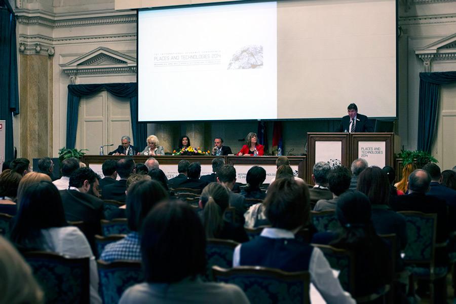 """Међународна научна конференција """"Places and Technologies"""" 2014."""