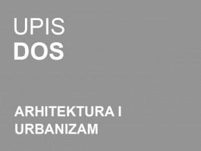 Упис у прву годину Докторских академских студија – Архитектура и урбанизам 2014/15
