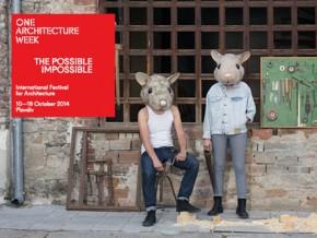 Међународни фестивал: One Architecture Week 2014, Пловдив, Бугарска
