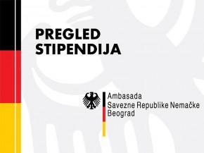 Konkursi: Stipendije Ambasade Savezne Republike Nemačke u Beogradu
