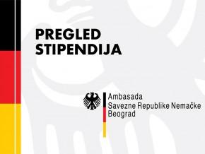 Конкурси: Стипендије Амбасаде Савезне Републике Немачке у Београду