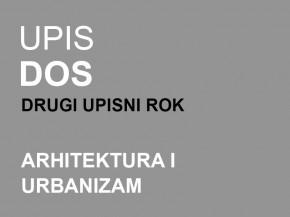 Upis u prvu godinu DOSA 2014/15: Drugi upisni rok