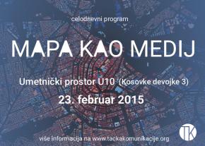 Serijal predavanja – seminar: Mapa kao medij