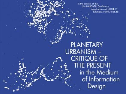 Međunarodni konkurs: PLANETARNI URBANIZAM – KRITIKA SADAŠNJOSTI posredstvom informacionog dizajna
