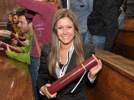 Свечана додела диплома за Генерацију уписану на основне академске студије 2010/11.