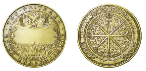 Pritzker Architecture Prize Medal