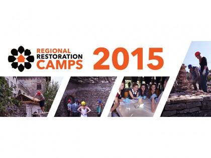 Regionalni restauratorski kampovi CHwB za 2015.