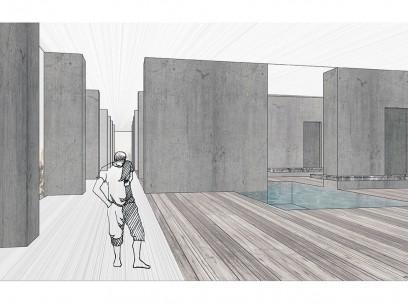 Хотел Југославија, Нови Београд – Унутрашња архитектура простора намењених рекреацији