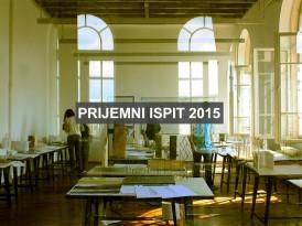 Završen je prvi konkursni rok za upis u prvu godinu OAS i IAS Arhitektura 2015/16