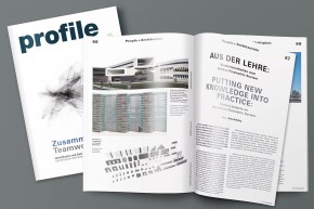 Profile Magazine: Putting New Knowledge into Practice – Student Projects on the Schüco Parametric System