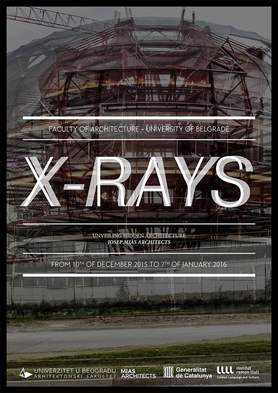 XRAYS_Josep-Mias_Belgrade_Poster