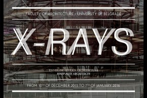 Guest lecture and Exhibition: XRAYS – Mias Architects, Josep Mias