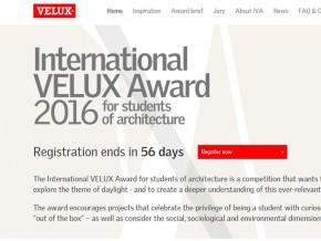 Конкурс: Међународна VELUX награда 2016 (International VELUX Award 2016)
