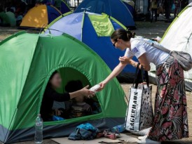 Изложба: Студенти за избеглице