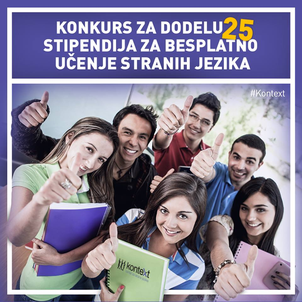 Konkurs za besplatno ucenje jezika Feb 2016 - Kontext