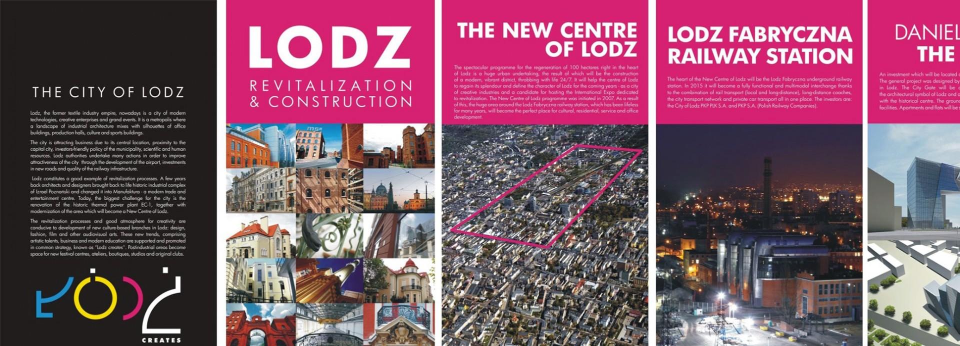 Exhibition: LODZ. Revitalization and construction