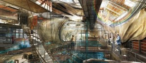 Andrew Chard_The Lost Dockyard_Serjeant Award for Excellence in Drawing at Part1