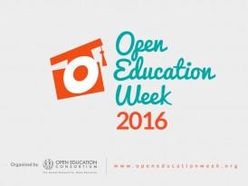 Недеља отвореног образовања 2016.