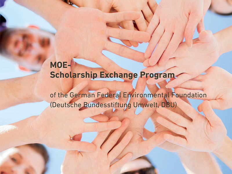 Stipendije Nemačke fondacije za životnu sredinu – DBU MOE za 2019.