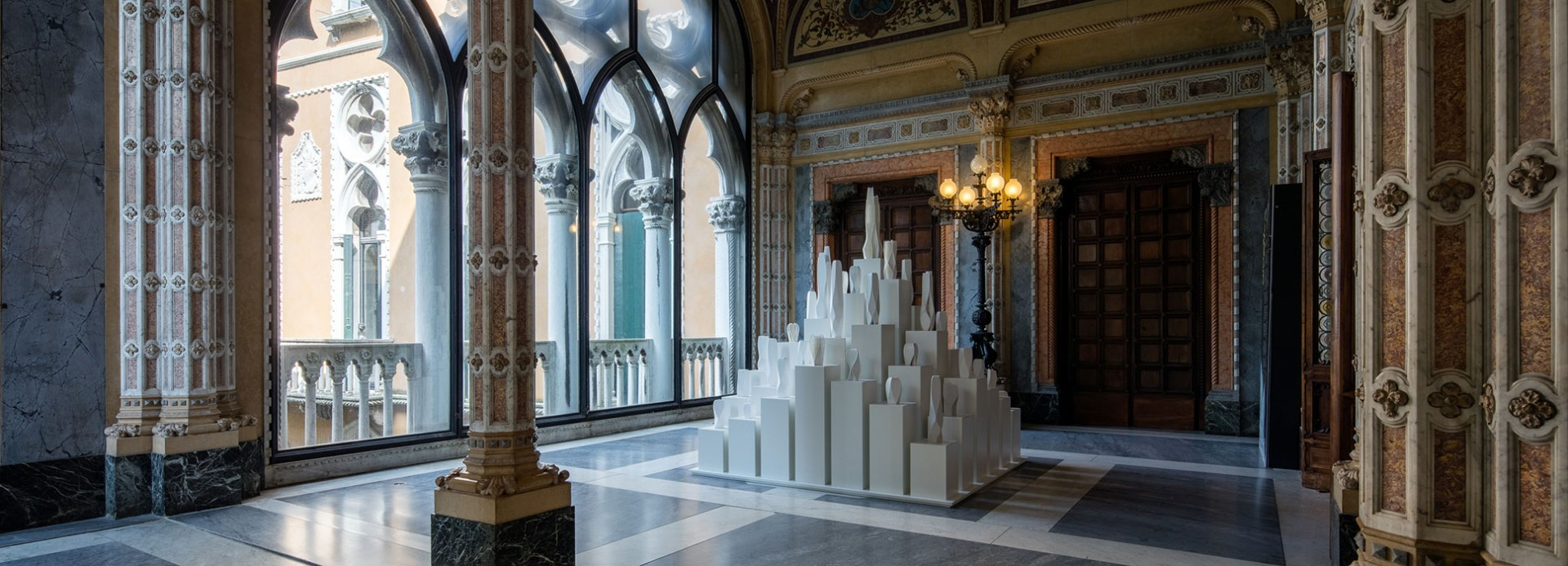 Retrospektivna izložba: Zaha Hadid, Palata Franketi, Venecija, maj – nov. 2016.