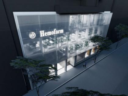 Rezultati konkursa: Rekonstrukcija i uređenje enterijera zgrade Poslovnog centra Hemofarma u Beogradu