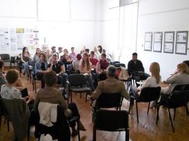Отварање изложбе и презентација завршних радова студената МАСУ у холу Градске управе града Панчева