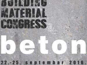 Први Међународни конгрес грађевинских материјала: БЕТОН – Магацин Мацура (22-25. септембар 2016.)