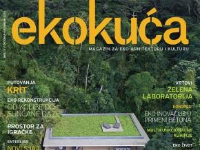 Publikacije: magazin Eko Kuća u prodaji na Arhitektonskom fakultetu