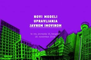 Konferencija: Novi modeli upravljanja javnom imovinom – KC REX
