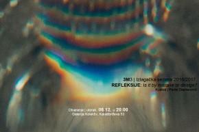 Izložba: #Reflektogram – Mirjana Jović, Aleksandar Pavlović, Jovana Dimitrijević