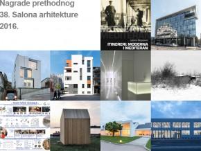 Konkurs za učešće na 39. Salonu arhitekture 2017. (ažurirano)