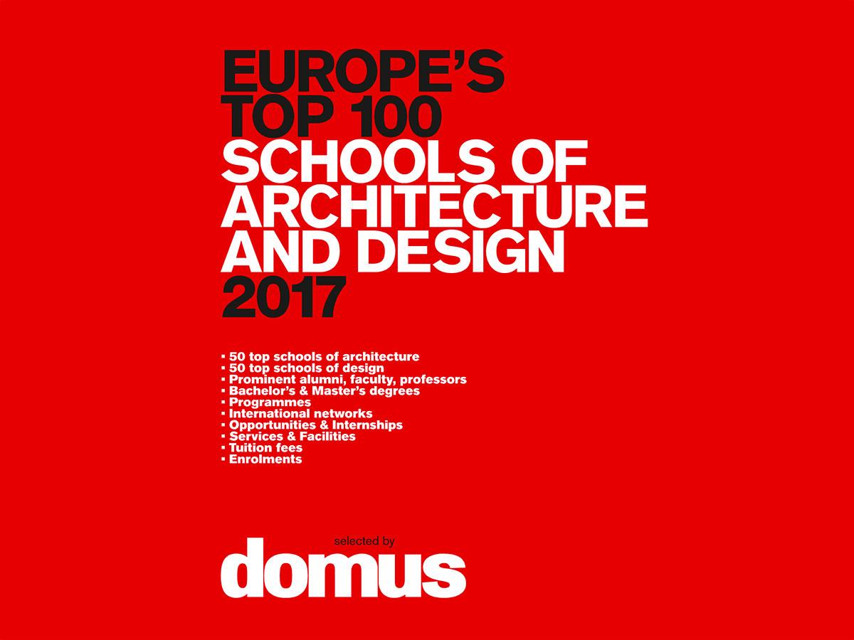 architecture school rankings top 100