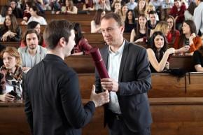 Свечана додела диплома на прослави Дана студената, 04. априла 2017.