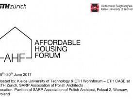 Симпозијум: Форум приступачног становања (29-30. јун 2017, Варшава)