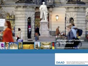 Презентација DAAD стипендија и информације о студирању у Немачкој