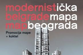 """Промоција водича: """"Модернистичка мапа Београда"""" у КЦ Град"""