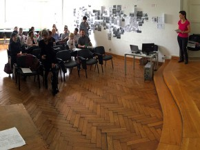 "Project ""Learning Economies"": The Workshop with Stakeholders at the Faculty of Architecture in Belgrade, 2017"